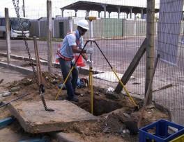 Pesquisa e atualização do cadastro de redes de água